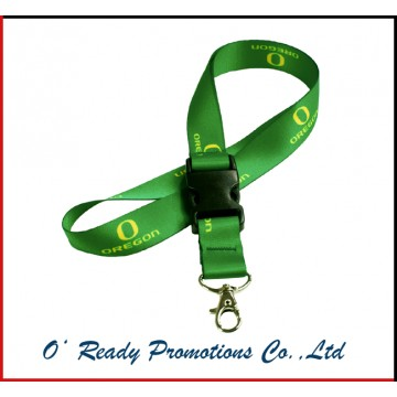 Green Custom Lanyards