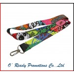 Custom Cartoon Printing Lanyard