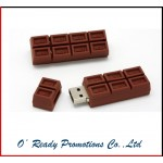 Cartoon Promotional Chocolate USB Flash Drive 500gb