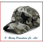 Camo Customized Baseball Cap Military Cap