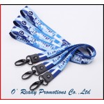 Customized Sublimation Lanyard for ID Holder