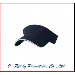 Custom Brushed Cotton Twill Sandwich Visor